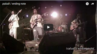 ¡salud! / endingnote (2014.5.6 at KLUB COUNTER ACTION)